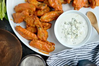 Spicy-Garlic-Chicken-Wings-with-Blue-Cheese-Dip-l-SimplyScratch.com_-620x414.jpg